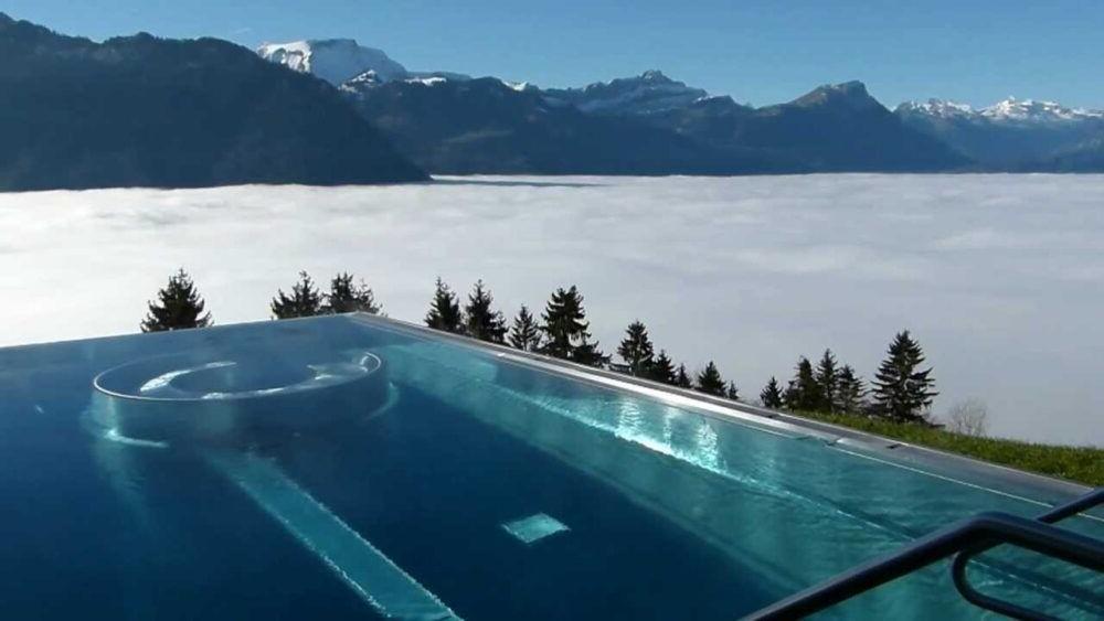 Los 9 hoteles más increíbles de Suiza