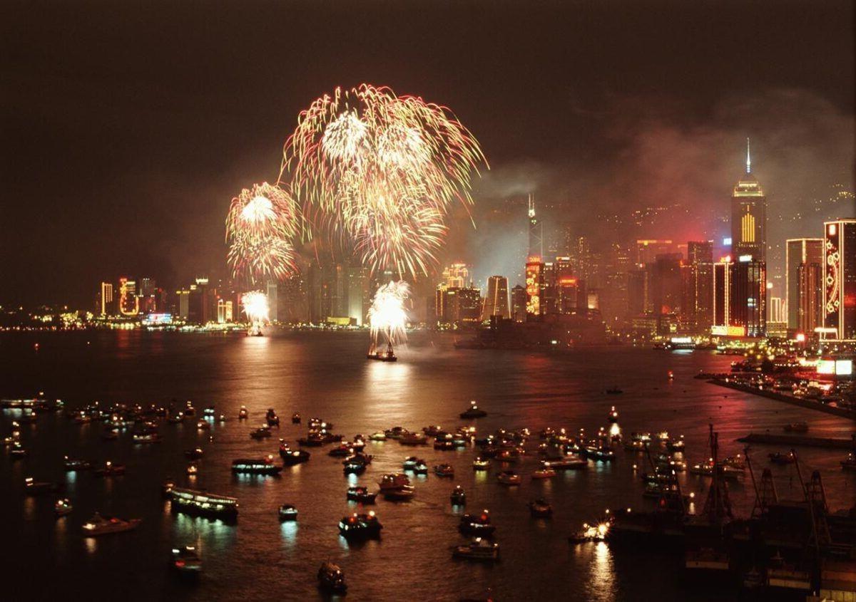 Año Nuevo Chino en Hong Kong