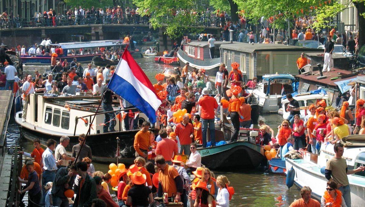 Día del Rey en Amsterdam