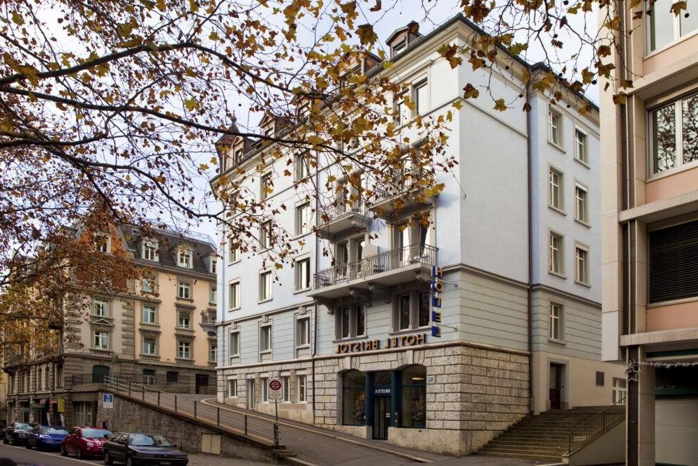 Hotel Bristol en Suiza