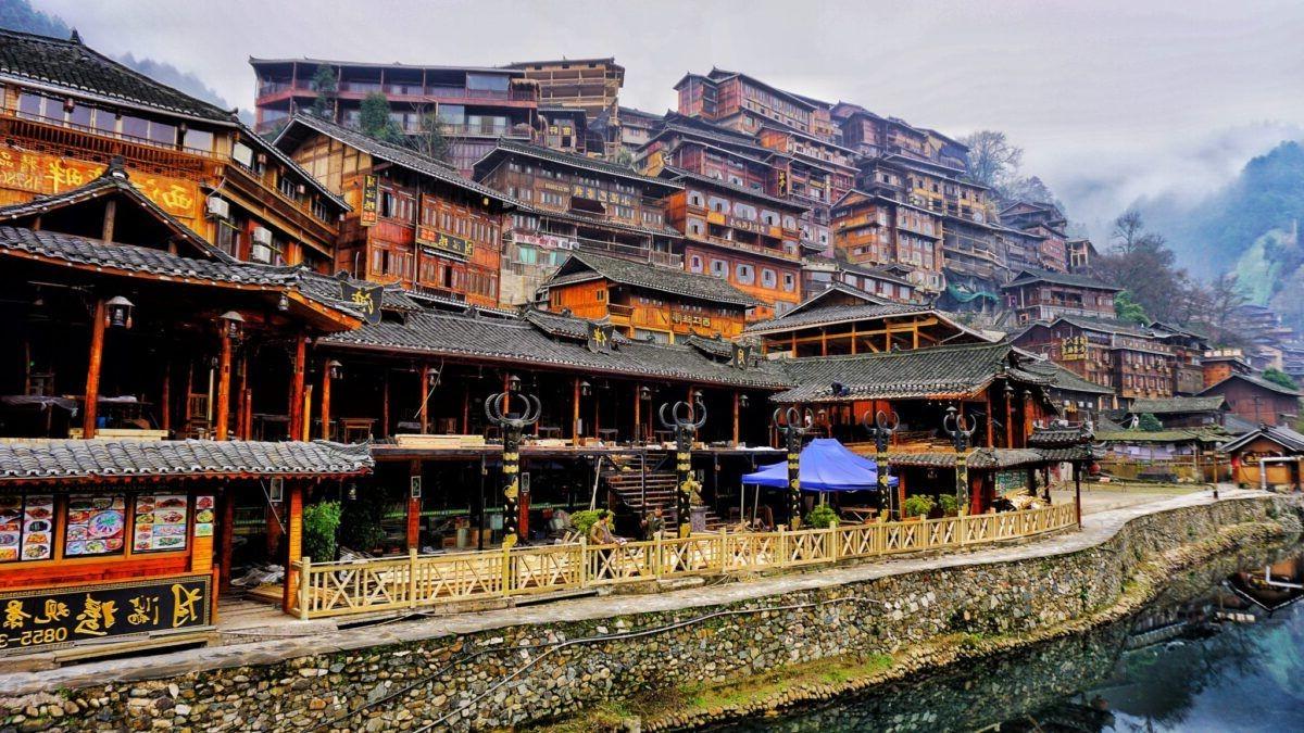 Xijiang Qianhu Miao Village