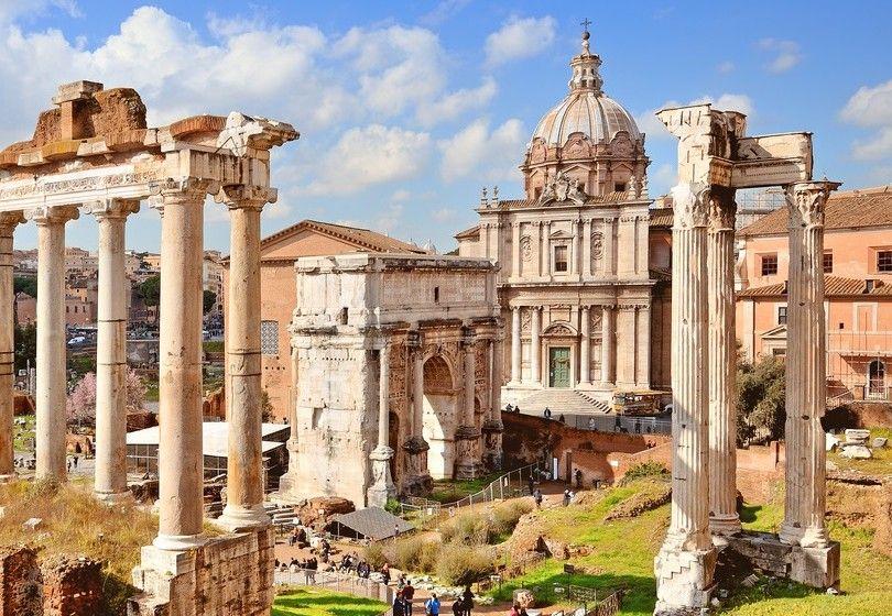 Arco De Severo En Roma Septimio