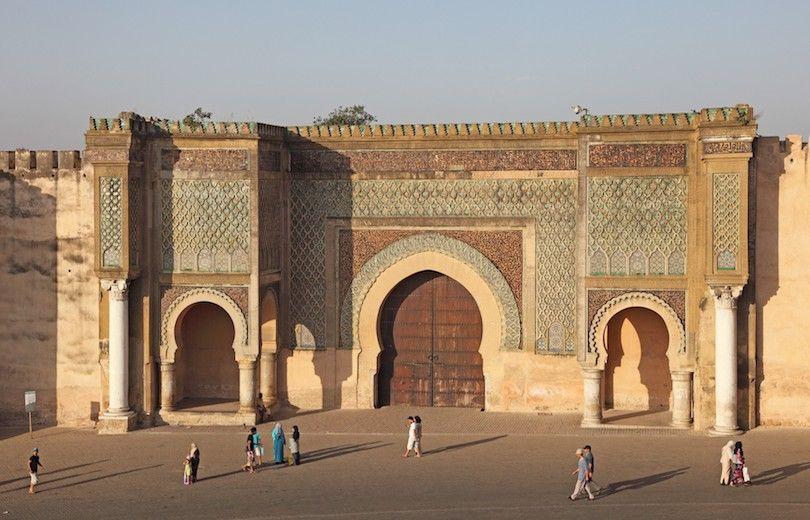 Bab Mansour Puerta