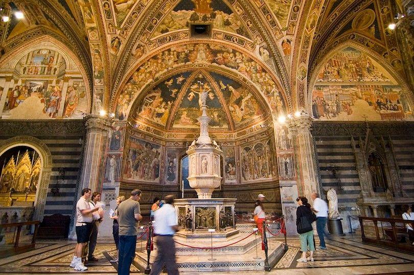 Baptisterio De San Juan Siena
