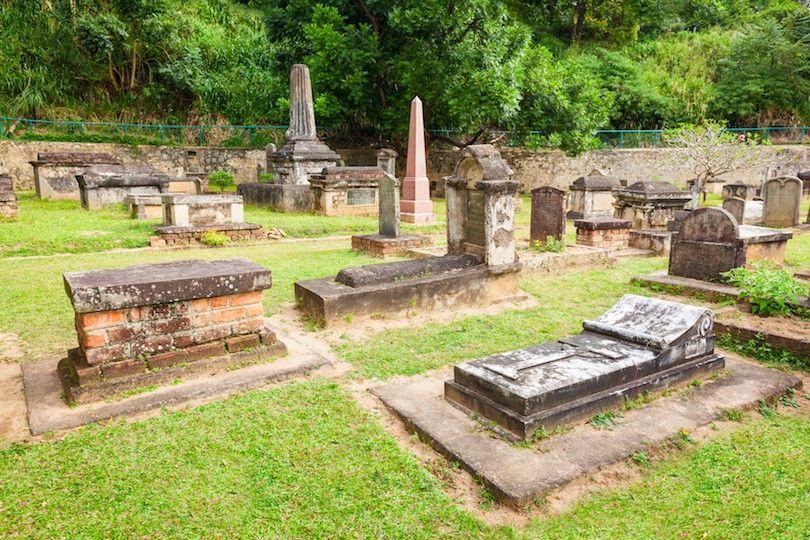 Británico Cementerio Guarnición