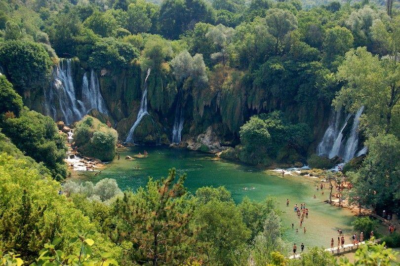 Cascadas Kravica