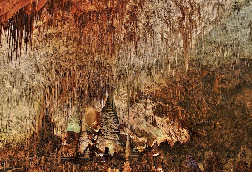 Cavernas De Carlsbad Parque Nacional Np