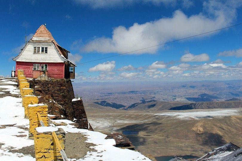 Chacaltaya Estación De Esquí