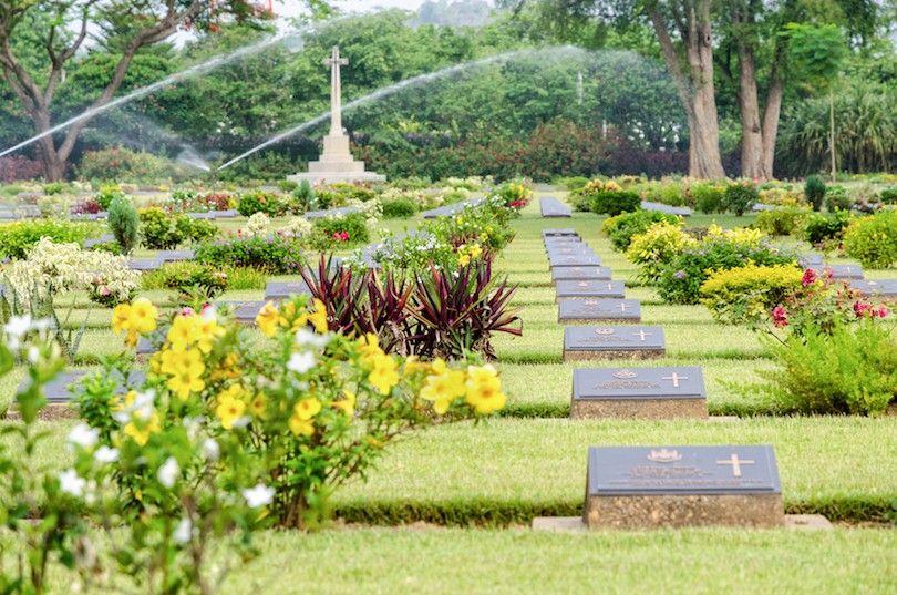 Chungkai Cementerio De Guerra