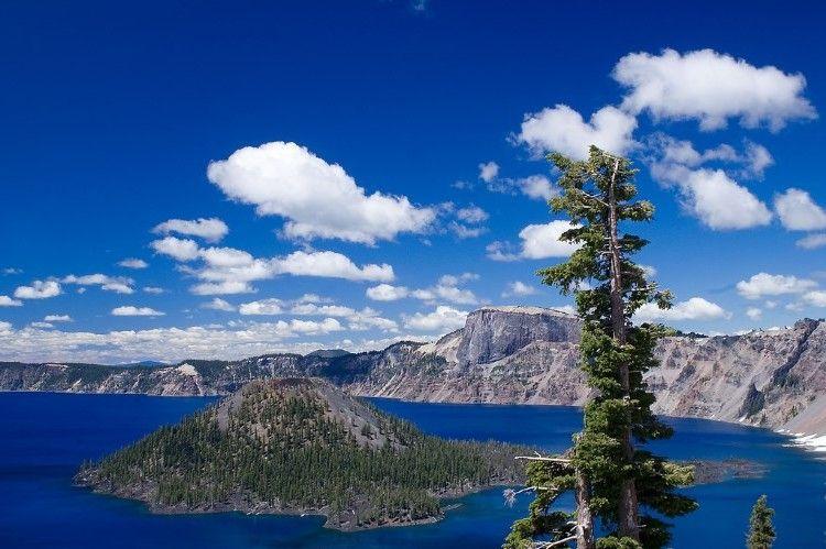 Cráter Lago Del Parque Nacional