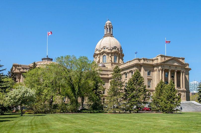 Edificio De La Legislatura De Alberta