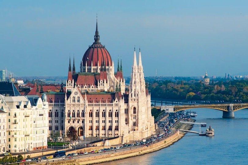 Edificio Del Parlamento Húngaro
