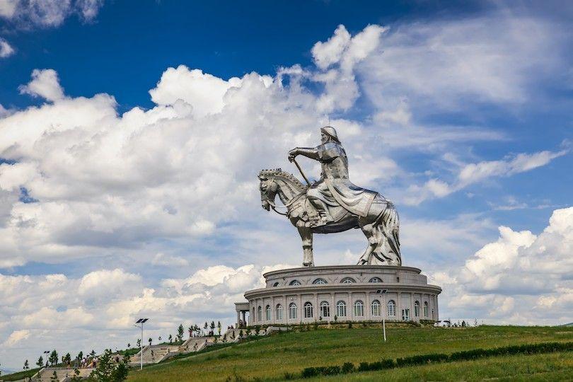 Genghis Khan Estatua Complejo