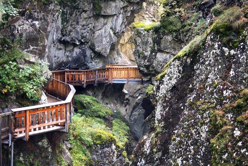 Gorner Desfiladero Zermatt