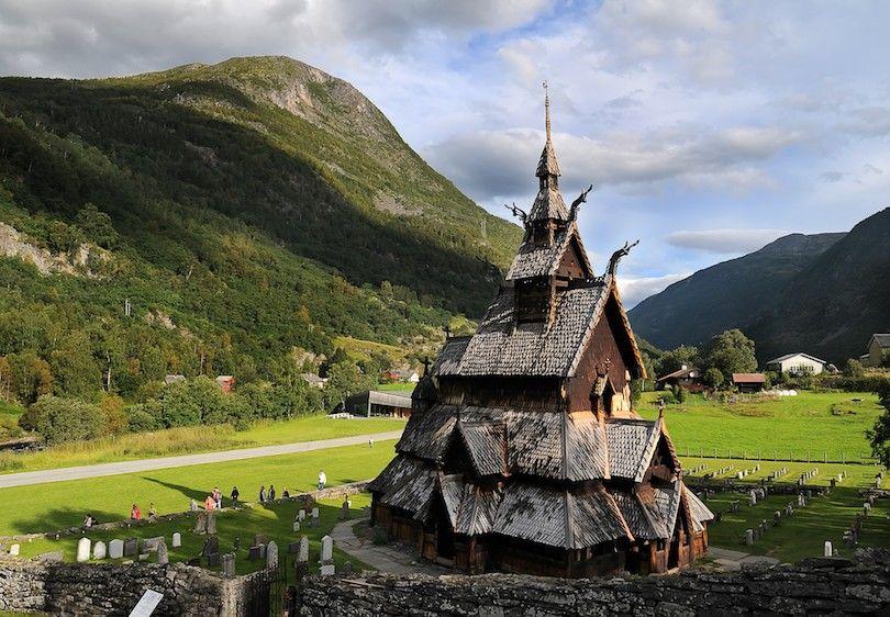 Iglesia De Madera De Borgund