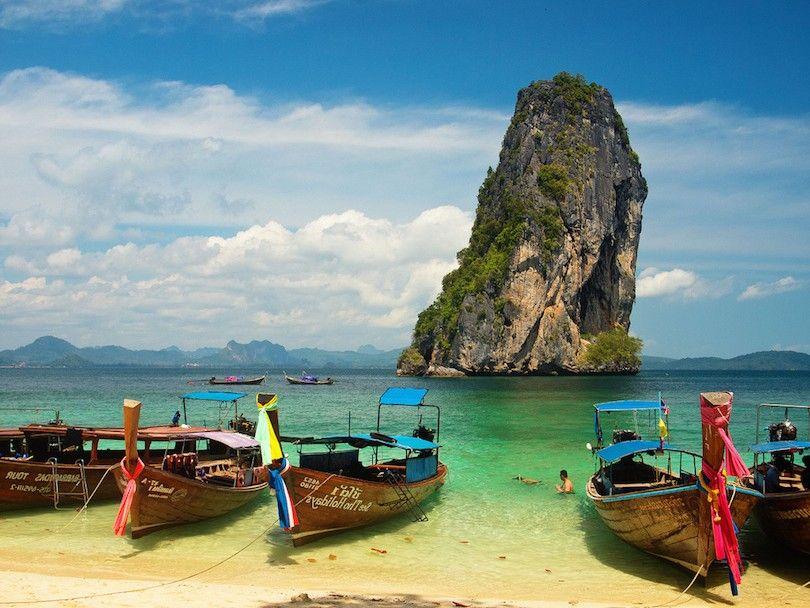 Isla Tailandia Saltando