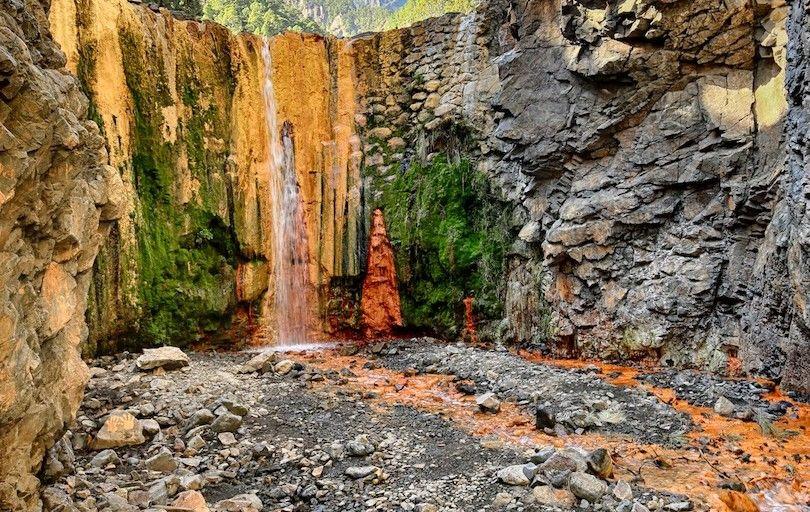 La Caldera De Taburiente Parque Nacional