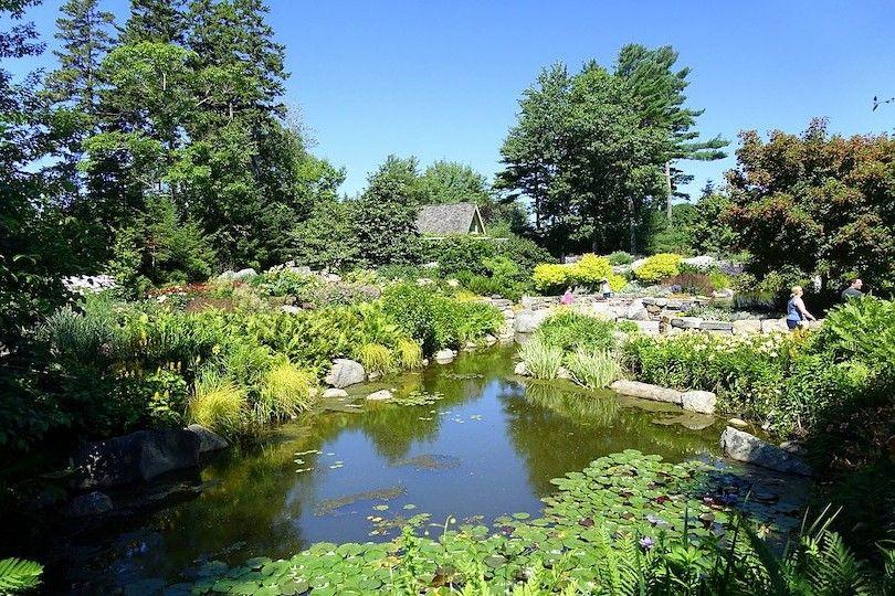 La Costa De Maine Jardín Botánico