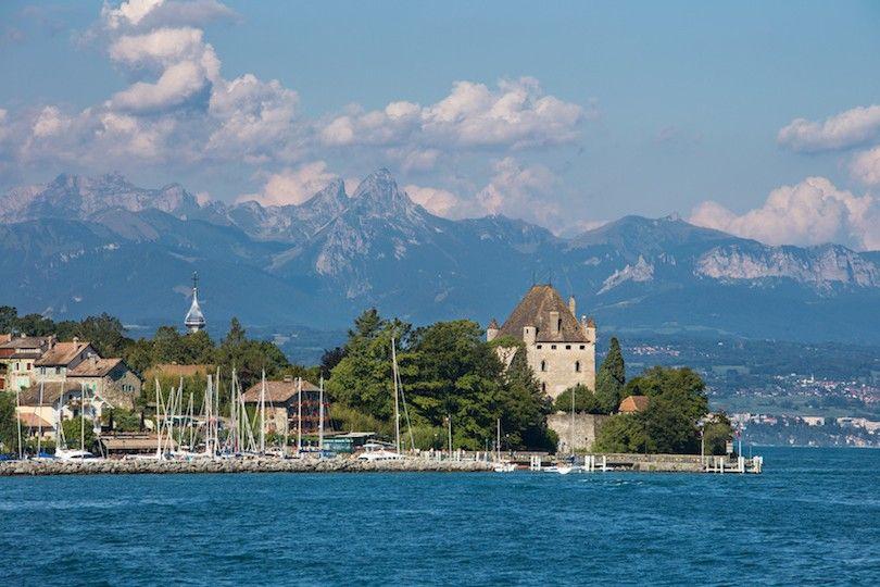 Lago De Ginebra Francia