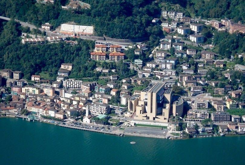 Lago De Lugano Italia