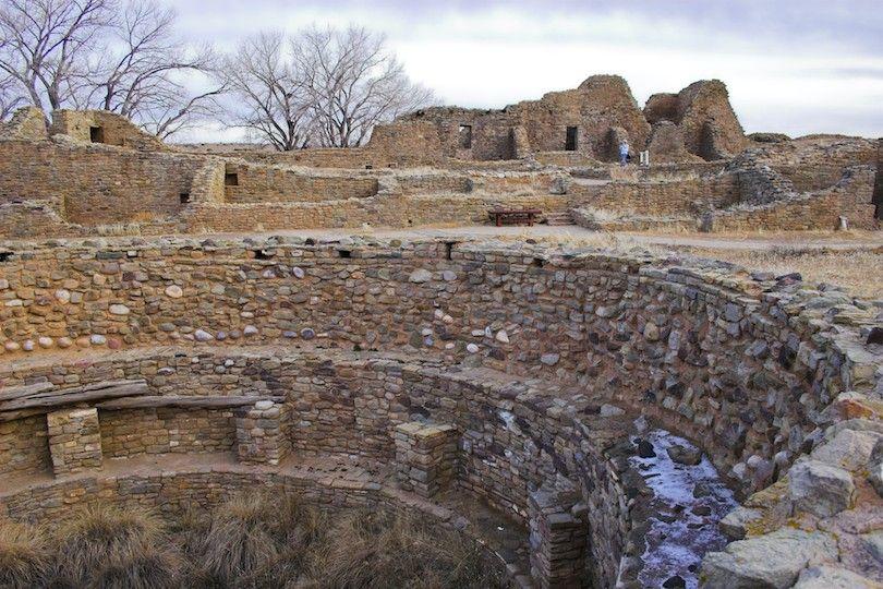Las Ruinas Aztecas Monumento Nacional Np
