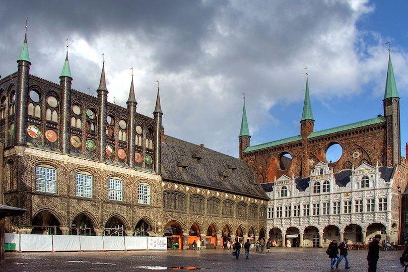 Lubecker Rathaus