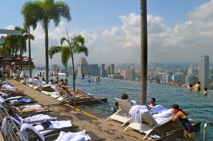 Marina Bay Sands Piscina