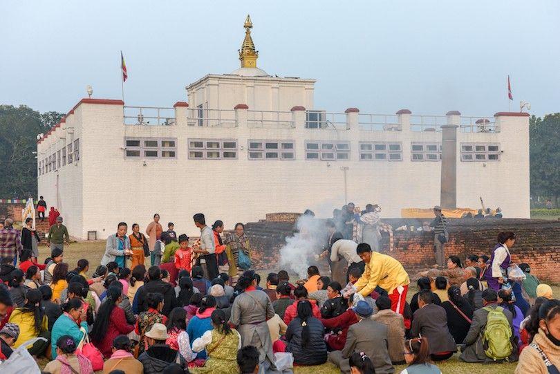 Maya Devi Templo