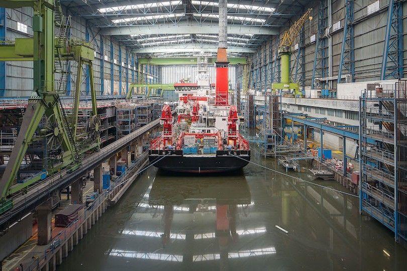 Meyer Werft Dockhalle 2