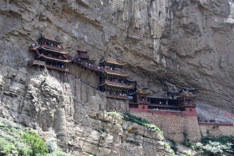 Monasterio Que Cuelga