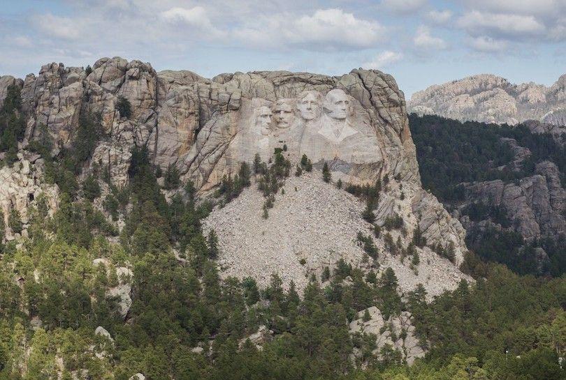 Monte Rushmore National Memorial Sd