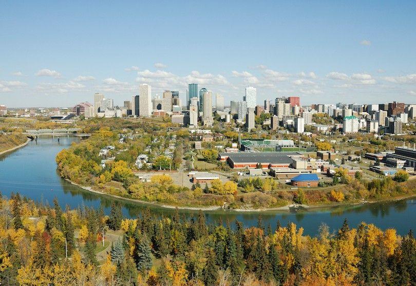 Norte Valle Del Río Saskatchewan