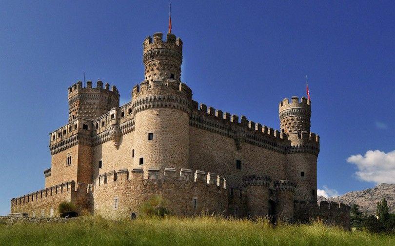 Nuevo Castillo De Manzanares El Real