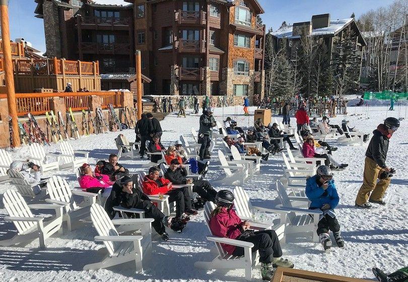 Parque De Esquí De La Ciudad