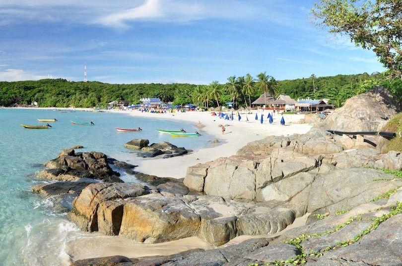 Perhentian Larga Playa