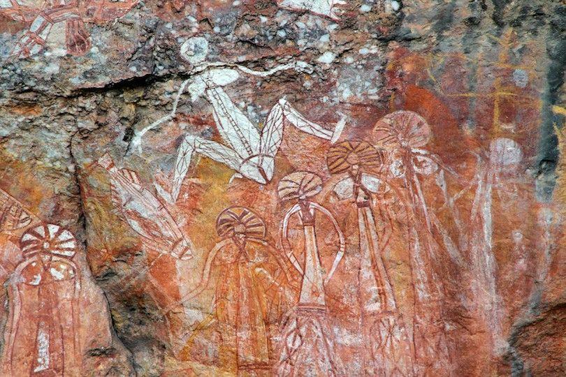 Pinturas De La Roca Kakadu