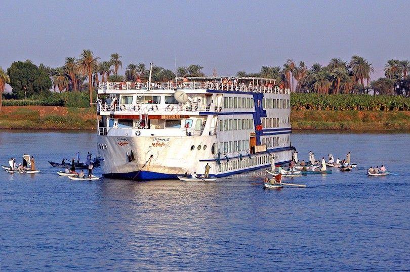 Río Nilo Crucero