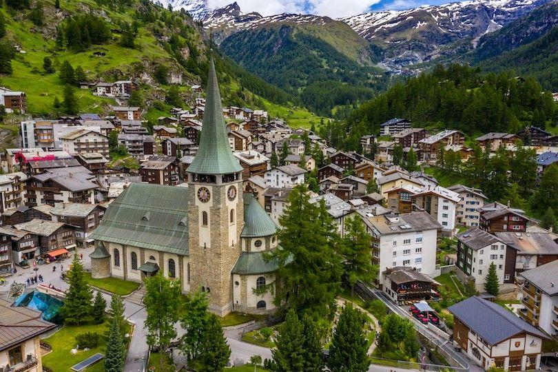 St Mauricio Zermatt Iglesia