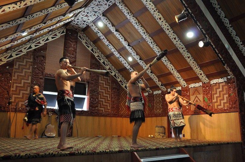 Tamaki Pueblo Maorí