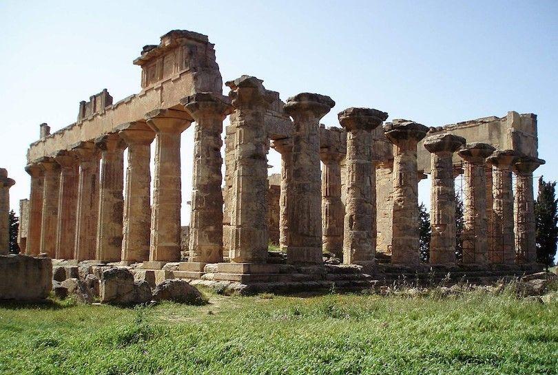 Templo De Zeus En Cirene