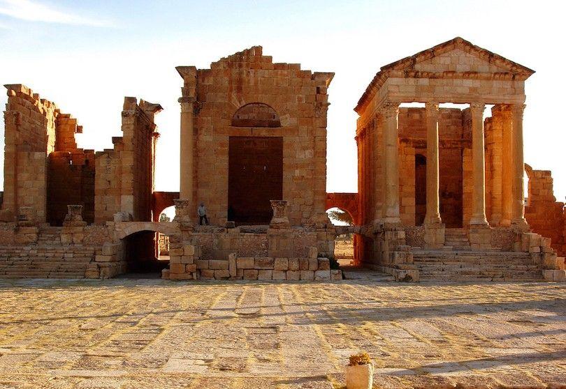 Templos Foro Sbeitla