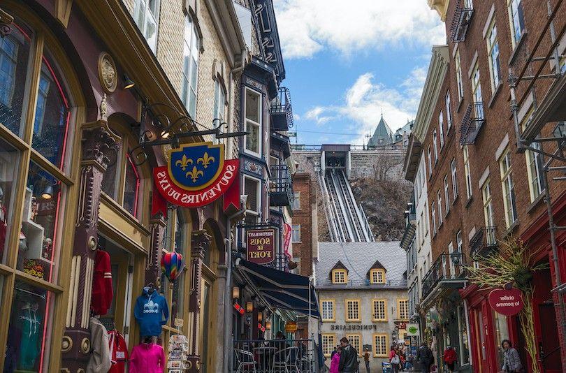 Viejo Funicular De Quebec