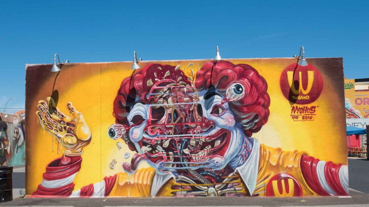 Graffitis coney island