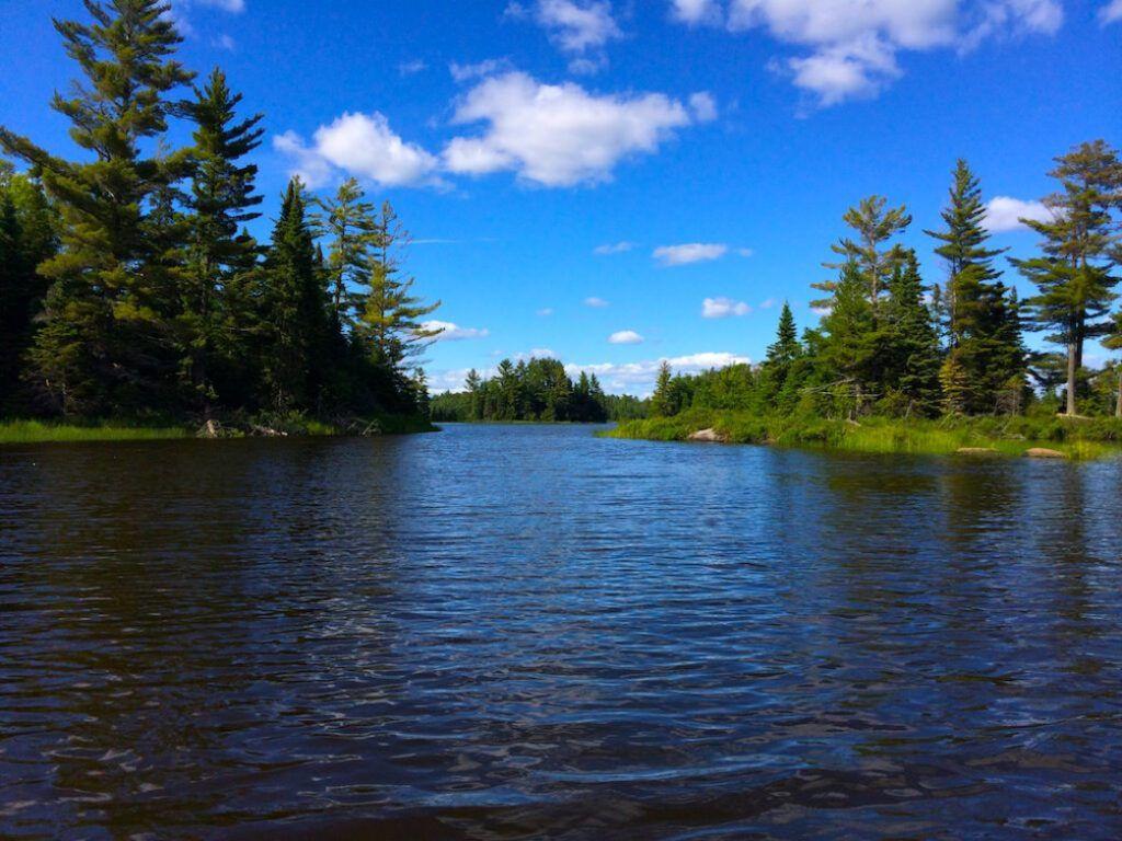 Área silvestre de Boundary Waters Canoe