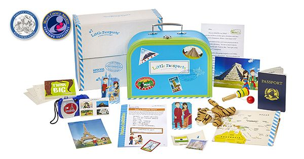 Box Small Passports World Edition