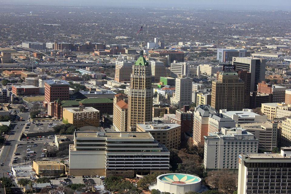 Centro de la ciudad San Antonio