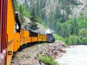 Durango y el ferrocarril de vía estrecha de Silverton