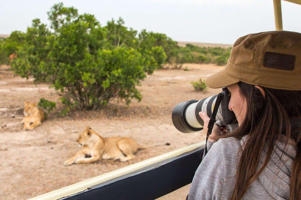 Equipo para safari