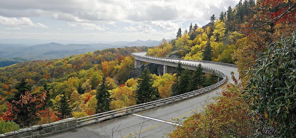 La autopista Blue Ridge Parkway