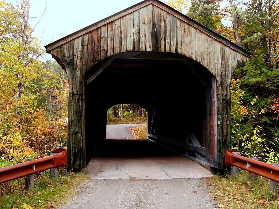 Los puentes cubiertos de Vermont
